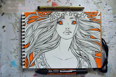 2017 Sketchbook - 15 by nati