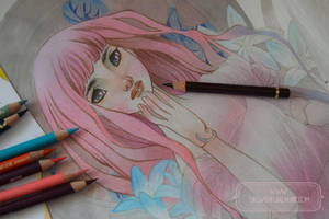 Pink Hair Doll - WIP by nati