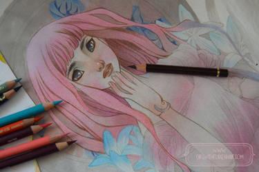 Pink Hair Doll - WIP by nati