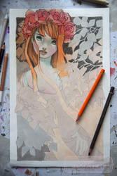 Redhair Girl - in progress by nati