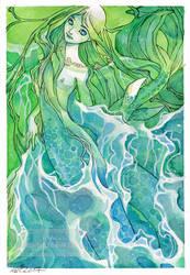 The Green Mermaid by nati