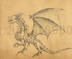 Dragon Sketch Systemeden by Ipnorospo