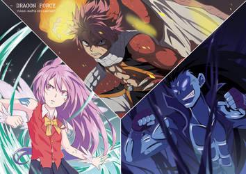 DRAGON FORCE ft. Dragon Cry Natsu by Yurax-Mae