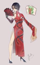 Cinder Fall ~oriental ver~ by Yurax-Mae