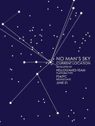 No Man S Sky Star Map Poster By Willcloud9 On Deviantart