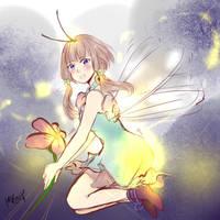 The Firefly Girl by Kohaya7Koizu