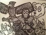 Varamyr Sixskins by timburtongot