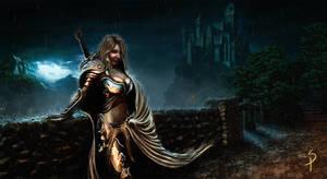 Warrior princess by SigbjornPedersen