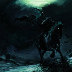The fourth Horseman of the Apocalypse by SigbjornPedersen
