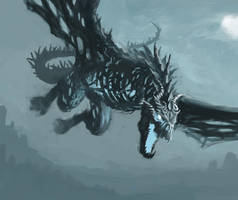 Undead dragon by SigbjornPedersen