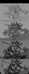 Witch Doctor Step by step by Kashuse