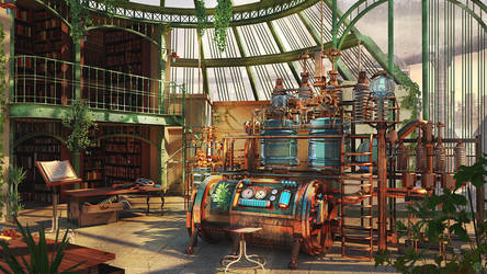 The Alchemist Laboratory by Kashuse