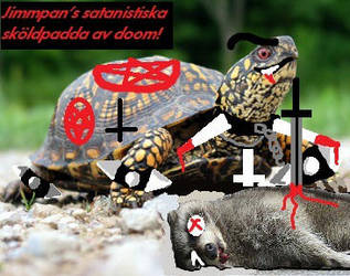 Satanic Turtle for... by Synden64