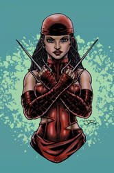Elektra by RevolverComics