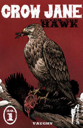 Crow Jane: Enter the Hawk no.1 cover by RevolverComics