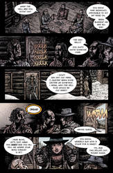 Crow Jane: Enter the Hawk no.1 pg09 by RevolverComics