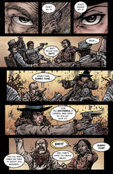 Crow Jane: Enter the Hawk no.1 pg10 by RevolverComics