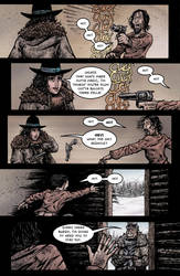 Crow Jane: Enter the Hawk no.1 pg11 by RevolverComics