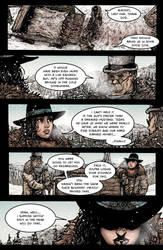 Crow Jane: Enter the Hawk no.1 pg13 by RevolverComics