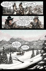Crow Jane: Enter the Hawk no.1 pg14 by RevolverComics