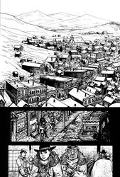 Enter the Hawk no.1 pg15 lines by RevolverComics