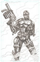 Deathlok by RevolverComics