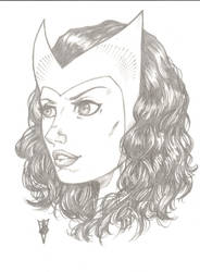 Scarlet Witch by RevolverComics