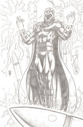 Magneto by RevolverComics