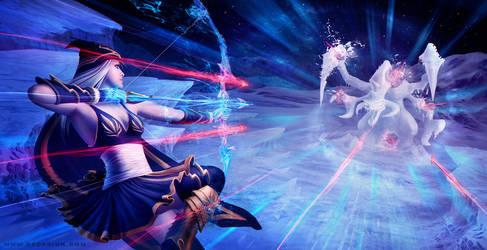 League of Legends - snow hurricane by vesner