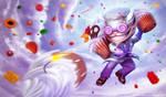 League of Legends - Sweet Tooth Ziggs by vesner