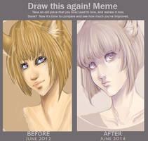 Draw this again! Meme by monobani