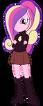 Equestria Girls - Princess Cadence by Beavernator