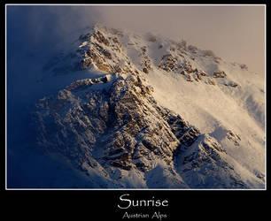 Sunrise On The Austrian Alps by atom7