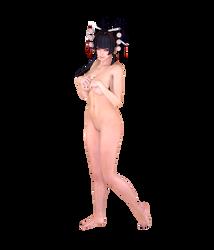 Nyotengu - Full Body by Kruel-Kaiser