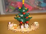 Christmas train of fun by Laurens-Comics