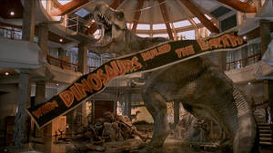 Jurassic Park T-Rex Wallpaper by keeperxiii