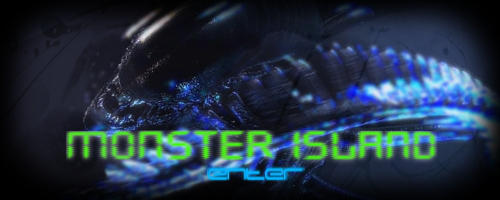 Monster Island Alien Signature by keeperxiii