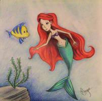 Little Mermaid by Meagan-Guttormson
