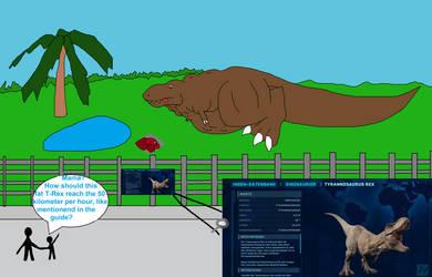 Jurassic World Evolution - Fat Rex by Finsterdrache