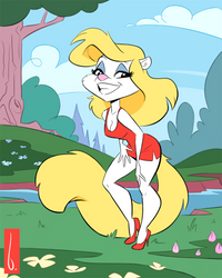 Minerva in the Woods by artbirchly