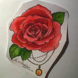 Rose Tattoo by Koshken