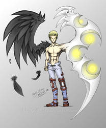 KNIVES Death Angel - TriGun by MaXedCats