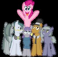 The Pie Family by CrazyNutBob