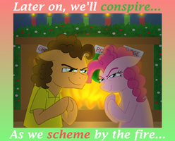 Plotting Party Ponies by CrazyNutBob