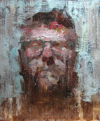 Self Portrait 2012 Summer 1 by Adam-Nowak