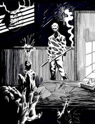 Inktober 2018 Day 15 - Evil Dead by crazyeric24