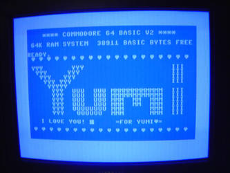 Yumi on Commodore64 by Eikoe