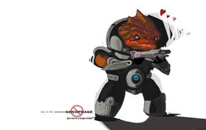 o0 love a krogan today 0o by Kenu