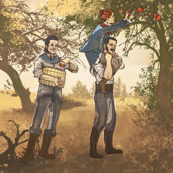 Apple Picking by Kenu