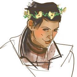 Flower crown by Kenu